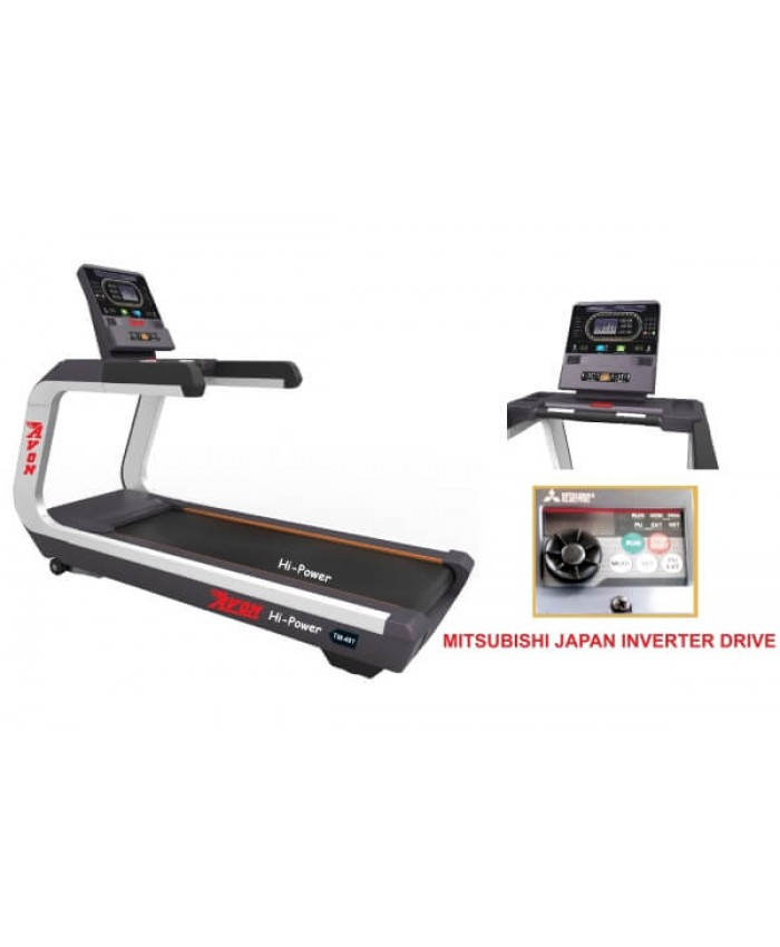 LUXURY COMMERCIAL MOTORISED A.C. TREADMILL 481