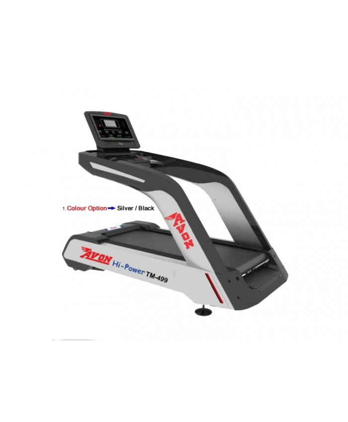 COMMERCIAL MOTORISED A.C. TREADMILL  499