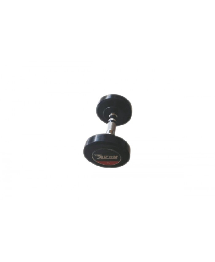 RUBBER COATED SOLID DUMBELL BOUNCING-2